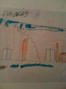 THE BUS. By Giovanni Sarcone. Age 8yrs
