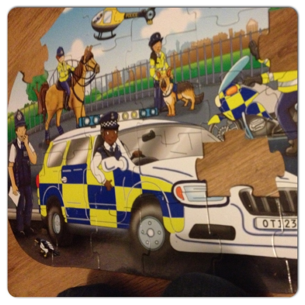 Big Boy Toys Police : Review orchard toys big police car puzzle a boy with
